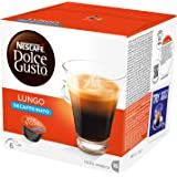 NESCAFÉ Dolce Gusto Lungo Decaffeinated, Pack of 3 (Total 48 Capsules, 48 servings)