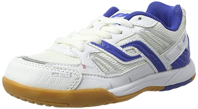 Par Chaussure Touch-ind Rebelle Ii Jr., Blanc / Bleu Royal, 32