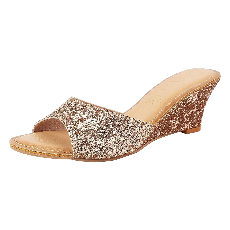 Buy Catwalk Women's Glitter Wedges at