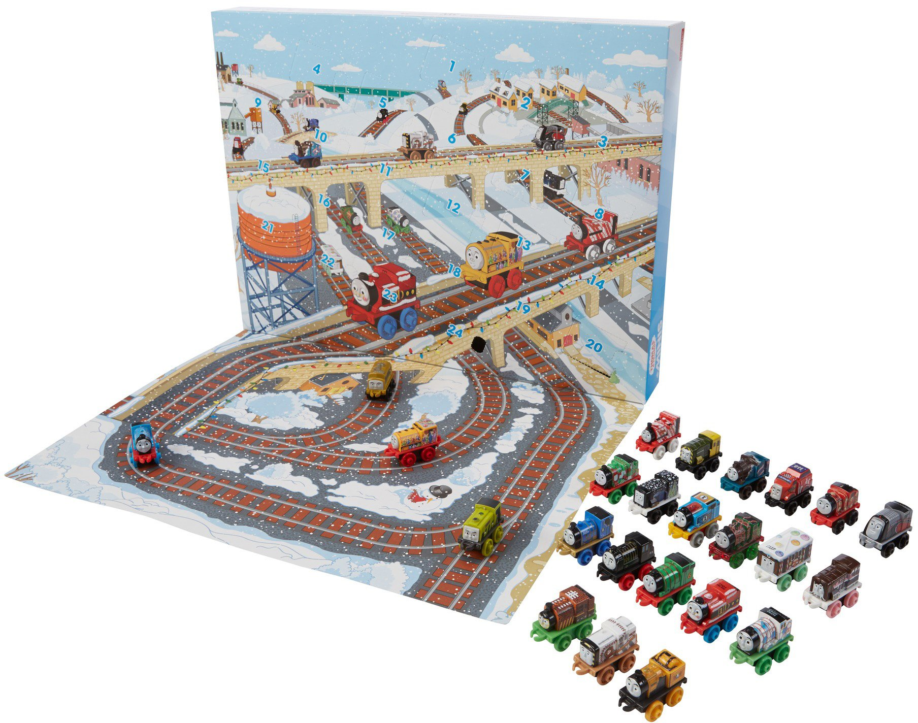 Thomas & Friends Fisher-Price MINIS, Advent Calendar by Thomas & Friends (Image #3)