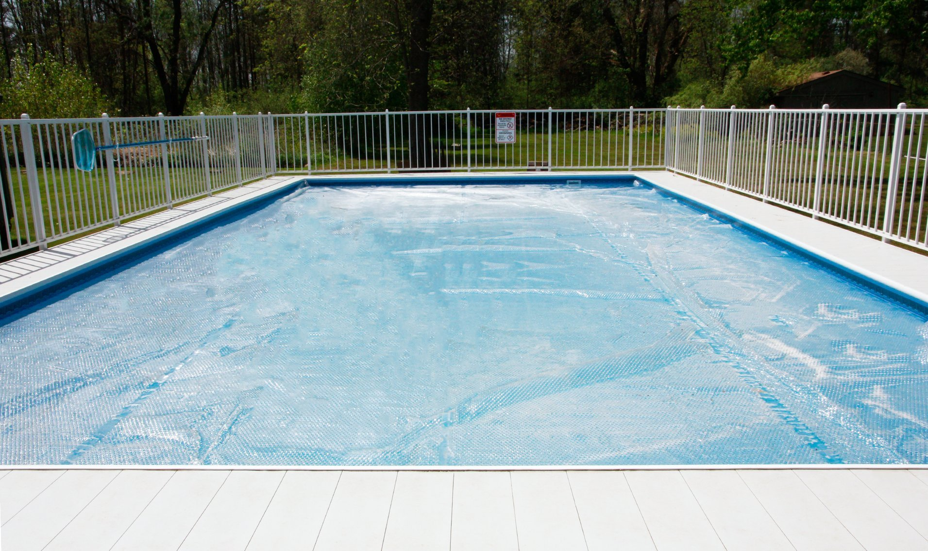 Sun2Solar 16-Foot-by-32-Foot Rectangle Clear Solar Cover   1600 ...