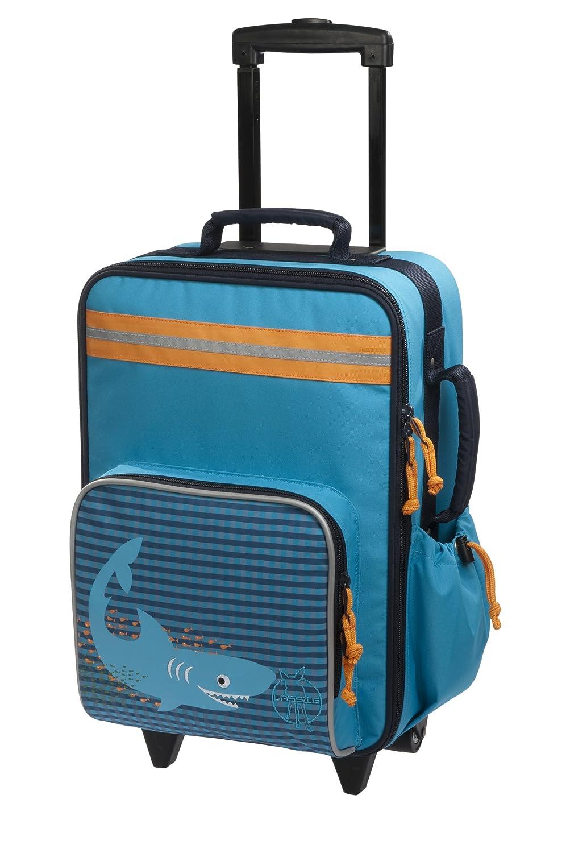 Lässig stabiler Kinder Reisekoffer/Kindertrolley mit separatem Schuh-/Wäschebeutel, Lssig LMTR127