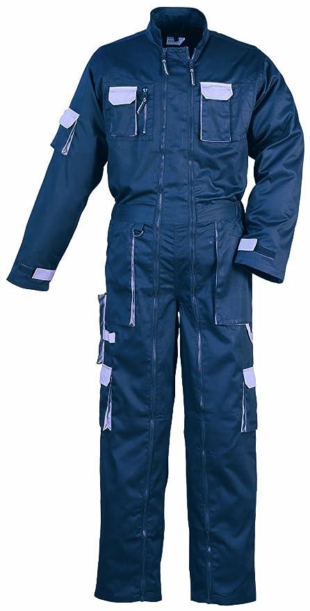 Traje azul marino 2 Zip (marina/gris) - XXX-Large: Amazon.es ...