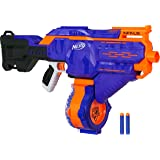 Nerf Infinus N-Strike Elite Toy Motorized Blaster with Speed-Load Technology, 30-Dart Drum, and 30 Official Nerf Elite Darts for Kids, Teens, and Adults