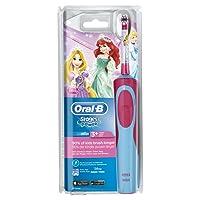Oral-B Stages Power Kids - Cepillo eléctrico para niños, modelos de los personajes de Cars o princesas Disney