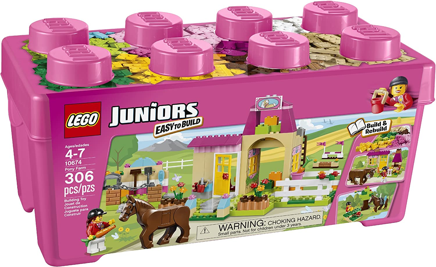 LEGO Juniors 10674 Pony Farm