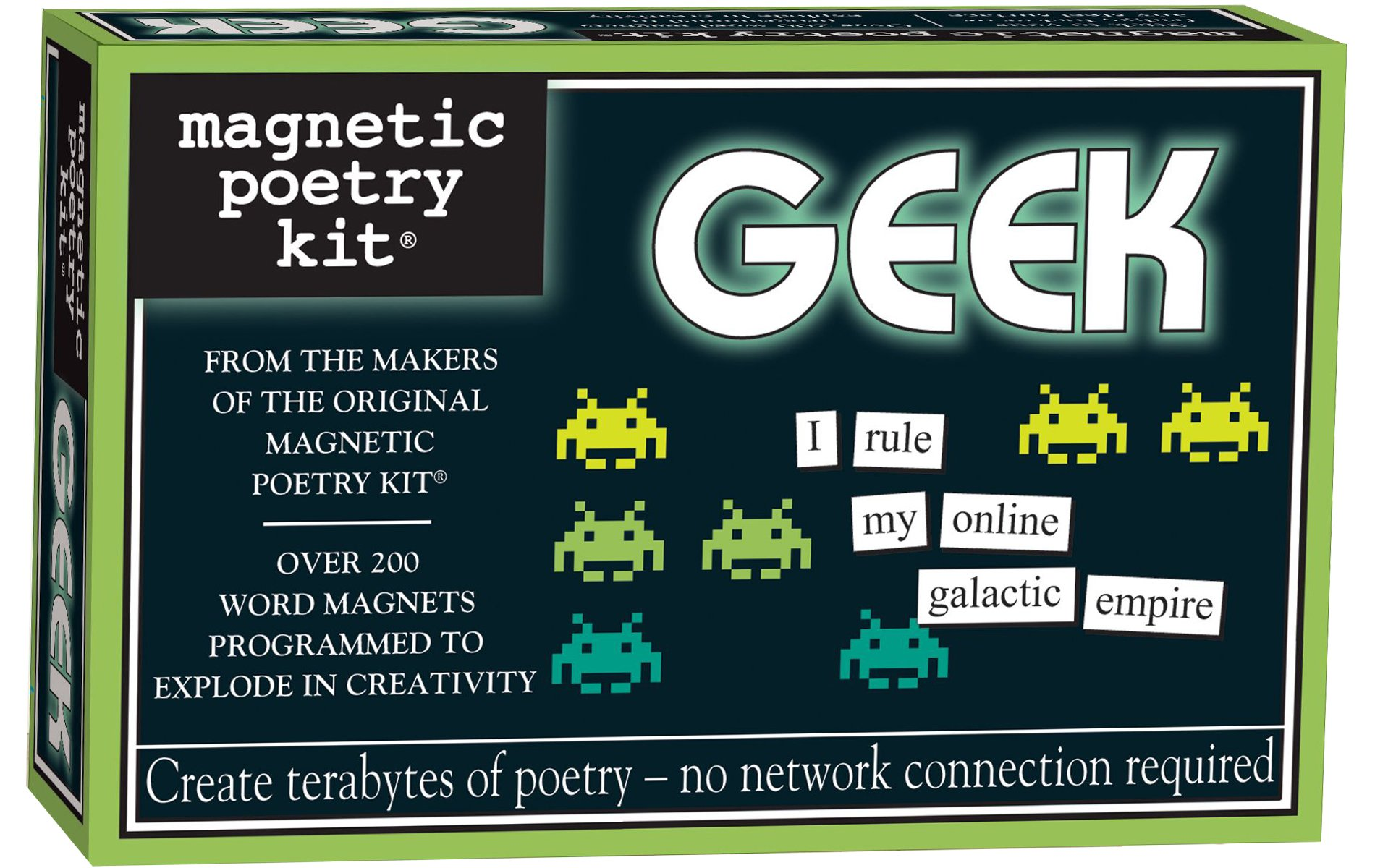 Magnetic Poetry - Geek Kit - Words for Refrigerator - Write Poems and Letters on the Fridge - Made in the USA