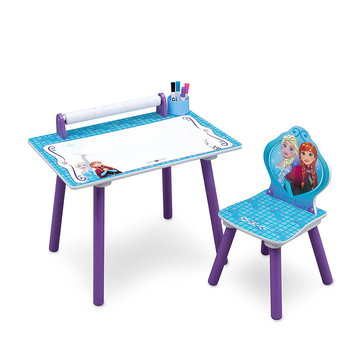 Disney Cars Activity Desk and Chair With Paper Roll Delta Children Products TT89590CR