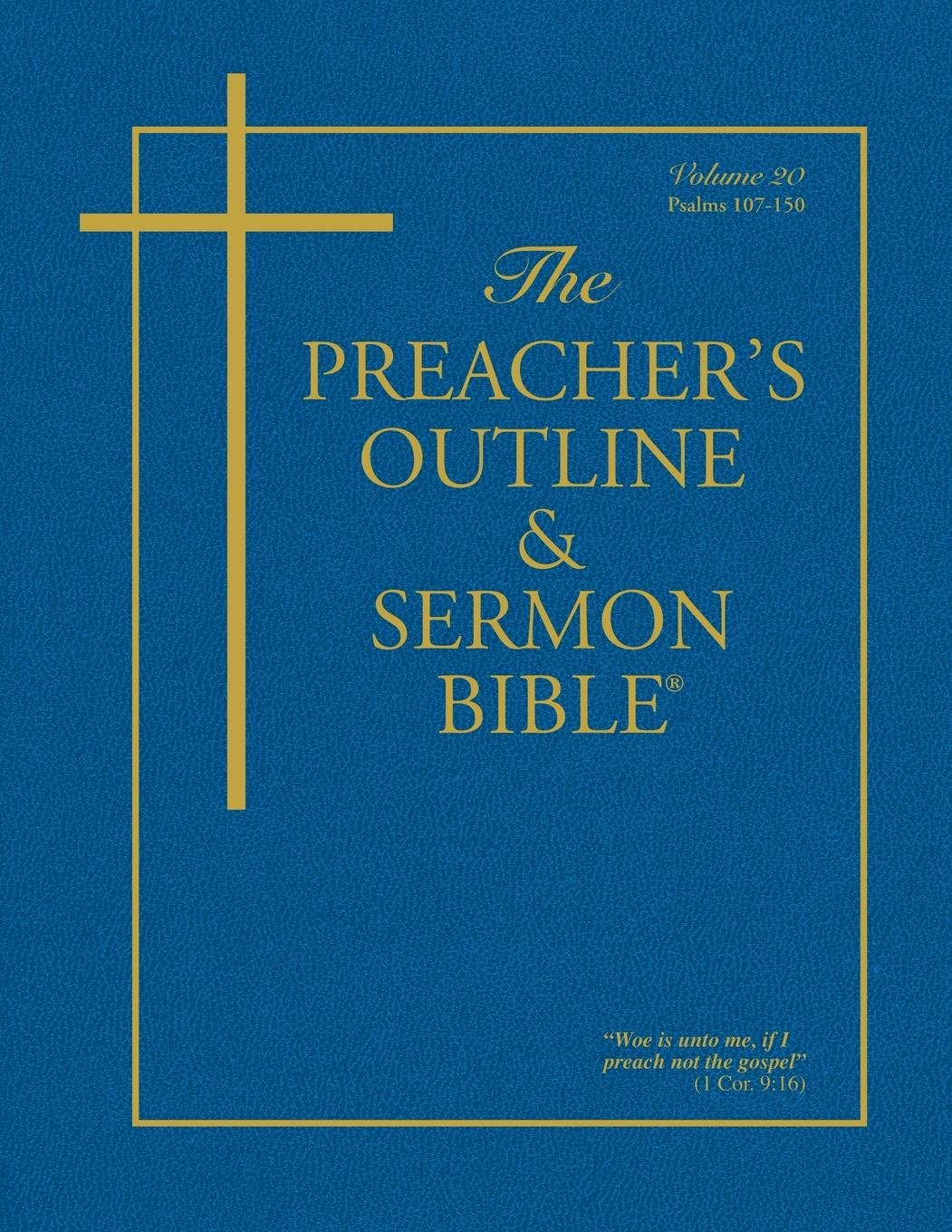 The Book of Psalms: Volume 5 (The Bible in Outline Form)