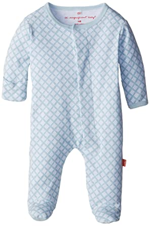 0815bc13b6a0 Amazon.com  Magnificent Baby Magnetic Baby Cotton Footie  Clothing