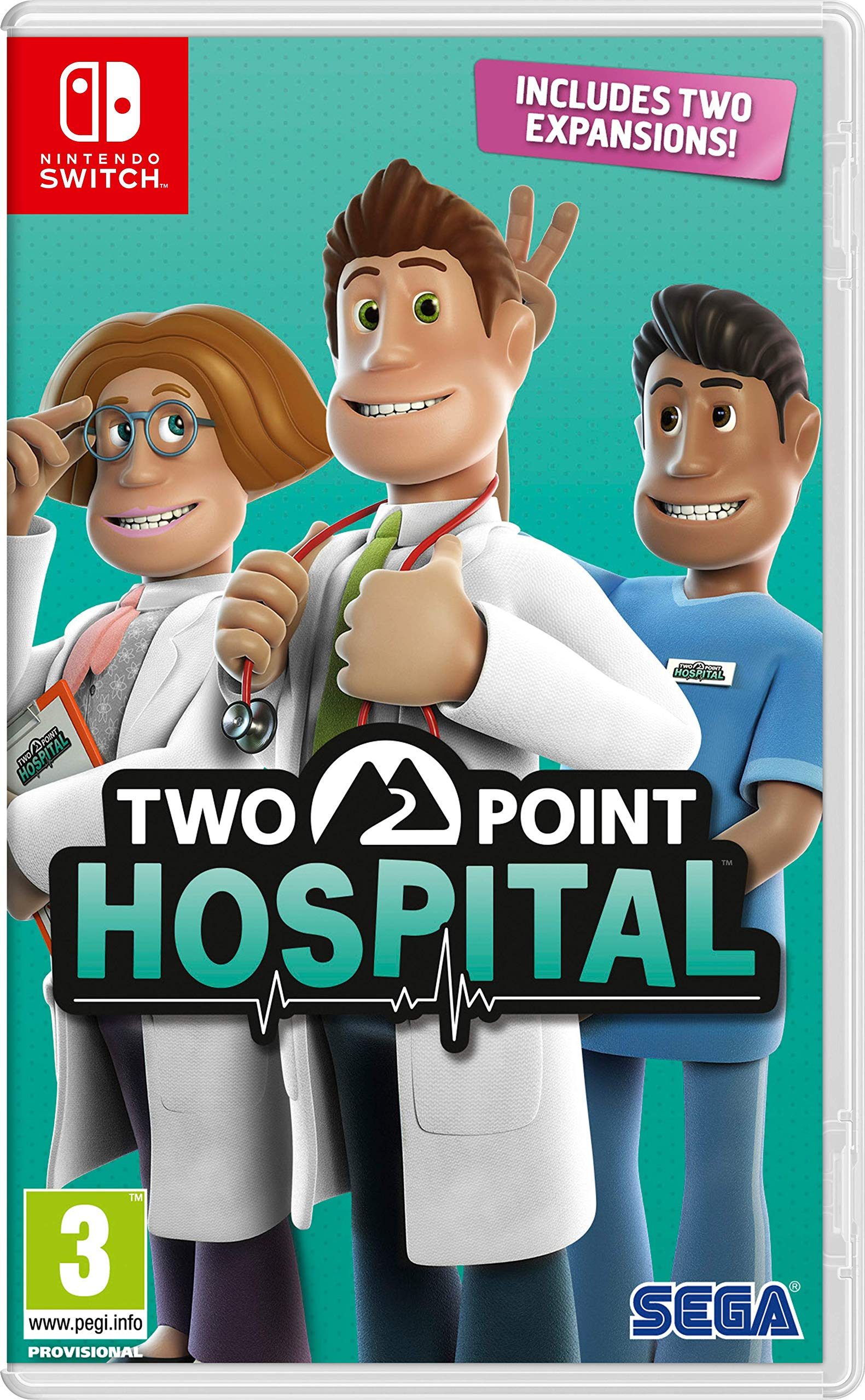Two Point Hospital (Nintendo Switch: Amazon.es: Libros