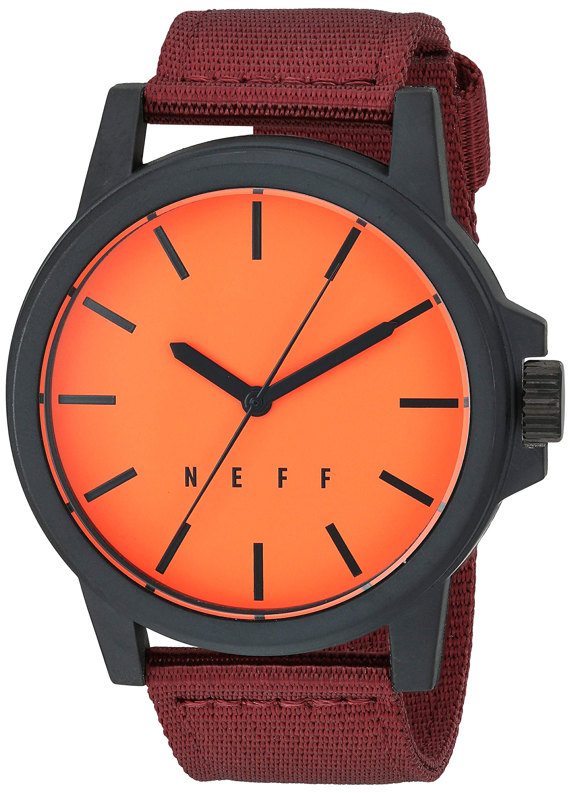 neff Men's Analog-Quartz Sport Watch with Stainless-Steel Strap, Multi, 22 (Model: NF0242-1) by NEFF