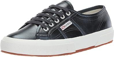 Ladies Superga 2750 Cotmetu Shoes Metallic Flat Casual Low Top Trainer All Sizes