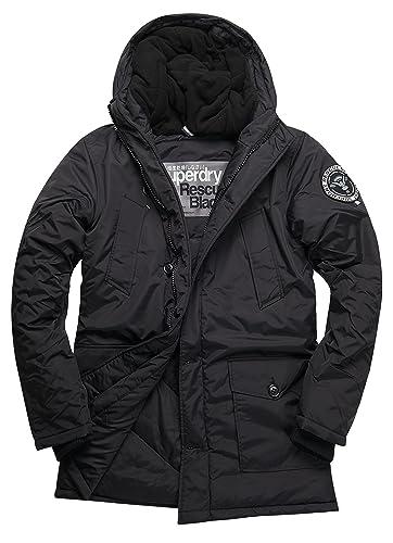 SUPERDRY Everest Parka, Abrigo Impermeable para Hombre
