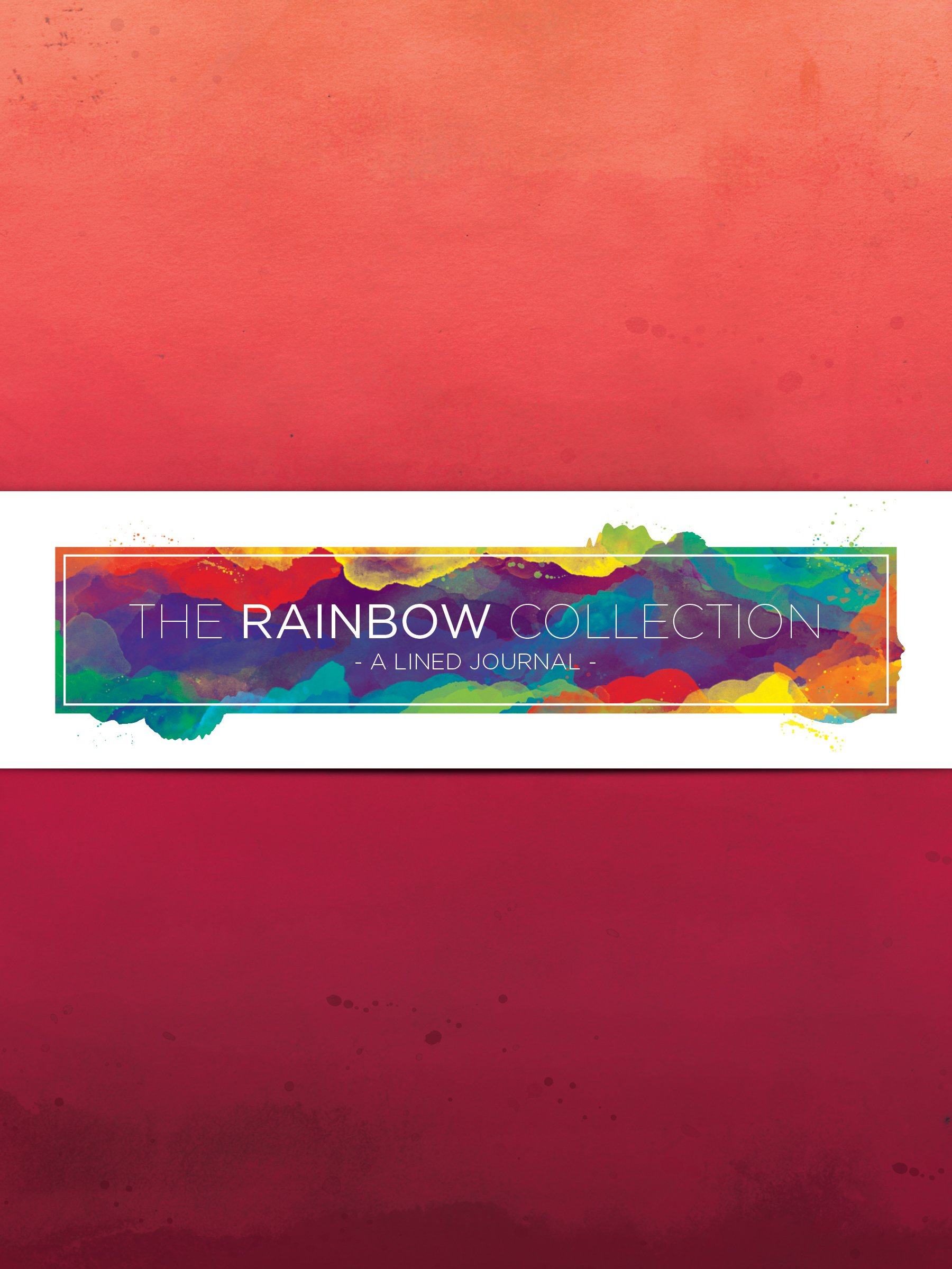 Download Red Watercolor 72 Page Journal (Rainbow Collection Journals) pdf