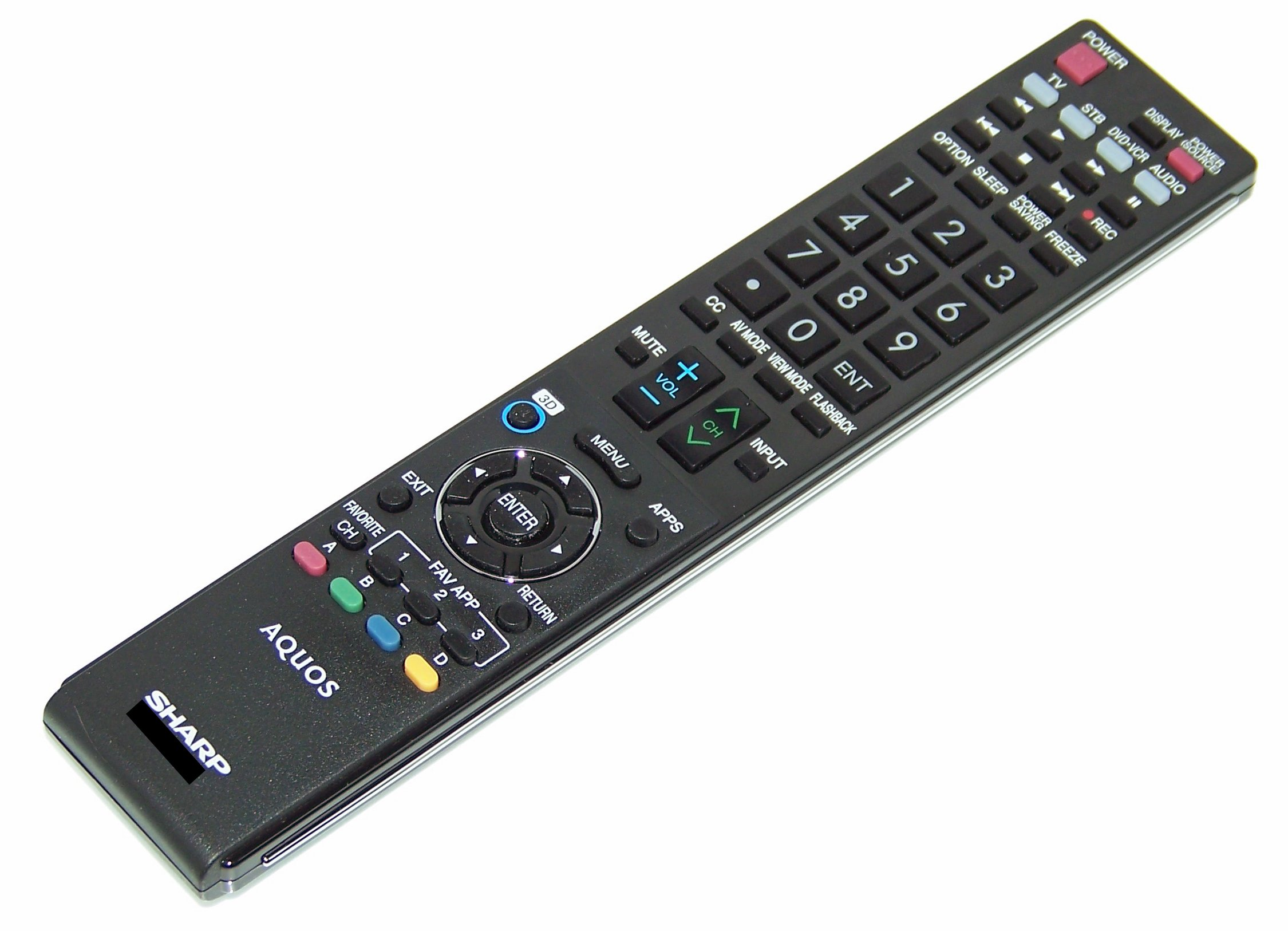 OEM Sharp Remote Control Specifically for: LC46LE810UN, LC-46LE810UN, LC46LE820UN, LC-46LE820UN, LC52LE810U, LC-52LE810U, LC52LE810UN, LC-52LE810UN by Sharp