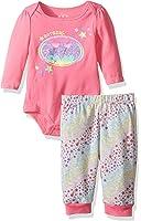 Warner Brothers Baby Girls' batbaby Girl Bodysuit Pant Set