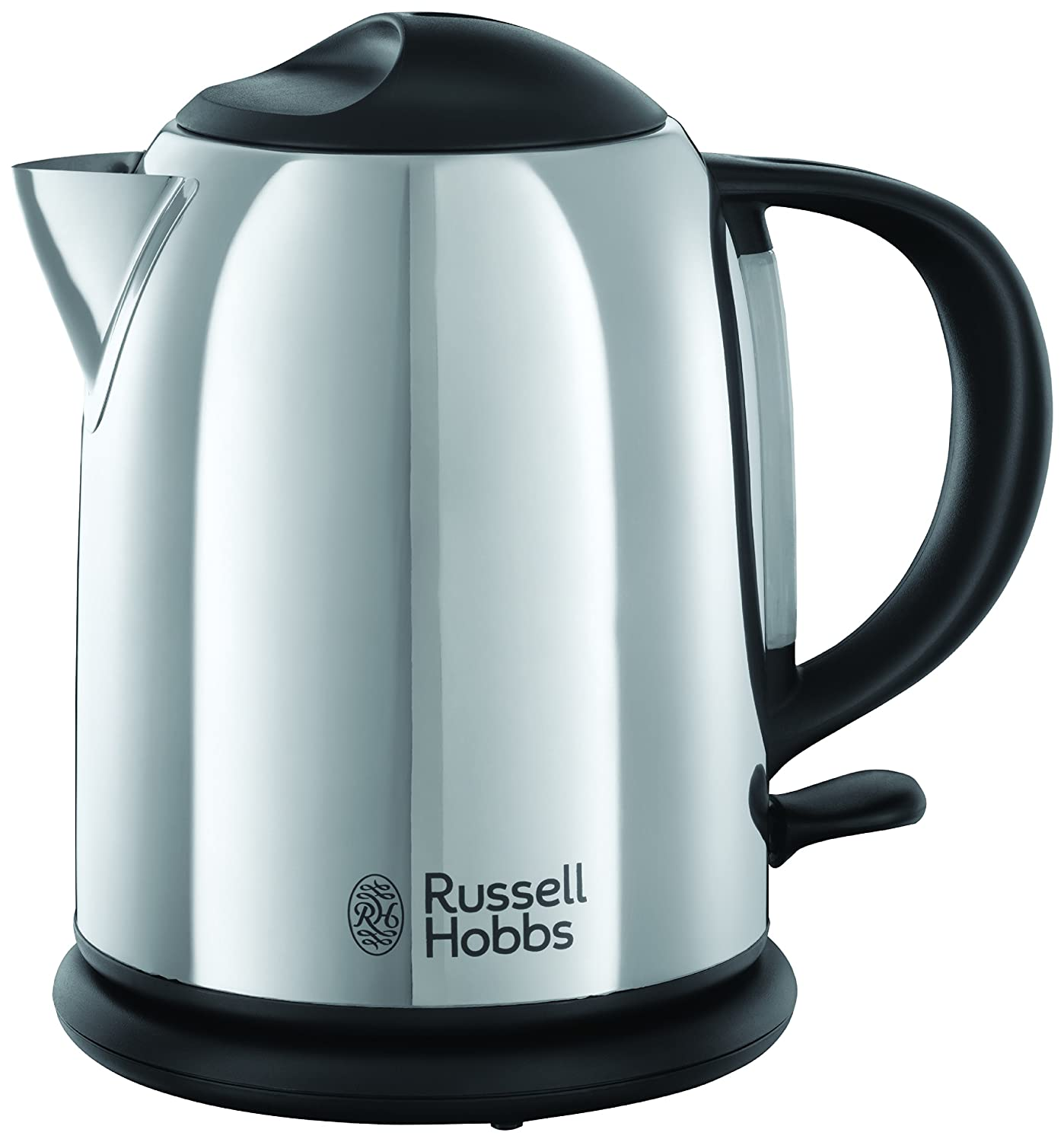 russell hobbs stainless steel kettle 1 litre electric fast. Black Bedroom Furniture Sets. Home Design Ideas
