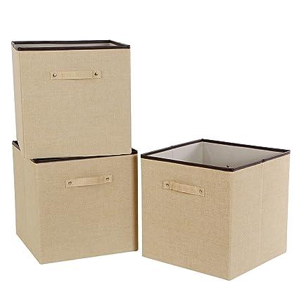 Merveilleux Lifewit 13u0026quot; X 13u0026quot; X 13u0026quot; Foldable Cube Storage Bins,Polyester  Storage
