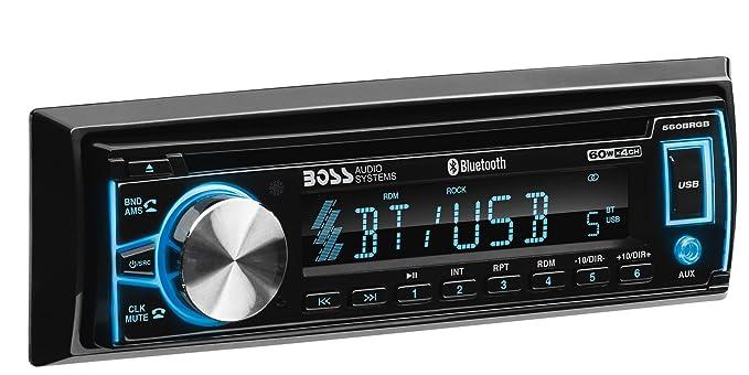 amazon com boss audio systems boss audio elite 560brgb car stereo