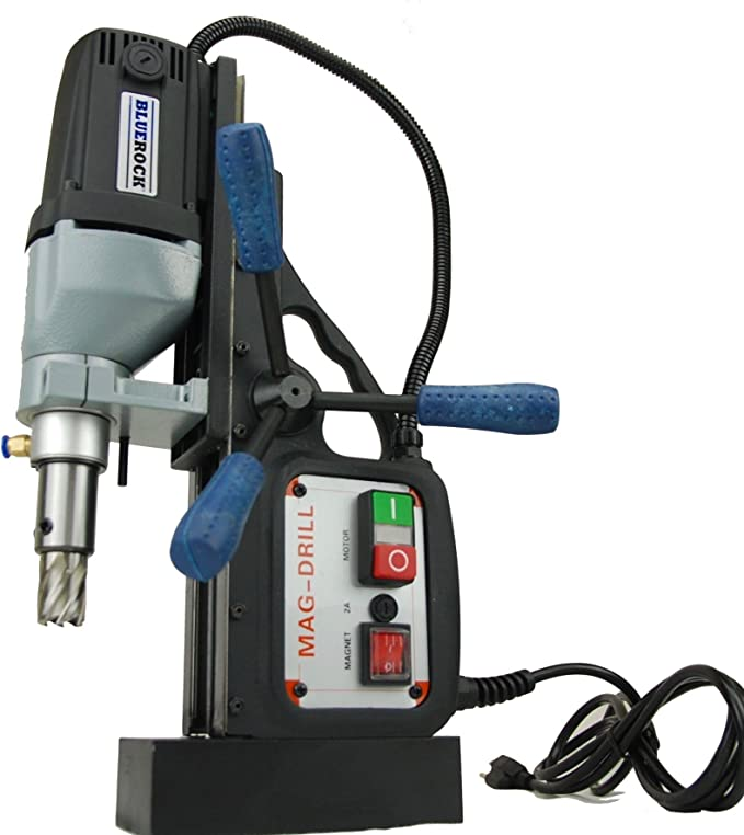Best Magnetic Drill Press: BLACK BLUEROCK Tools Model BRM-35A Typhoon Magnetic Drill