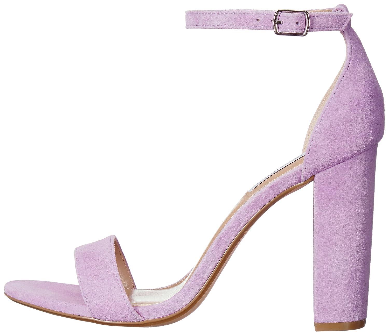 Steve Madden 7 Women's Carrson Dress Sandal B077NXN4BC 7 Madden B(M) US|Lavender Suede a1a1da