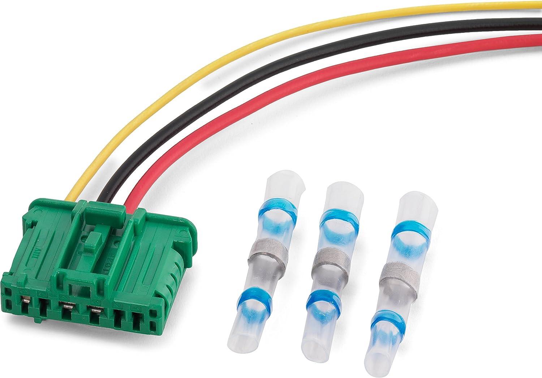 Reparación Conector De 6 Pines Ventilador de calefacción para ...