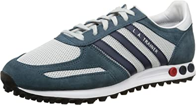 Adidas LA Trainer B24785 Color: Navy Blue Red White
