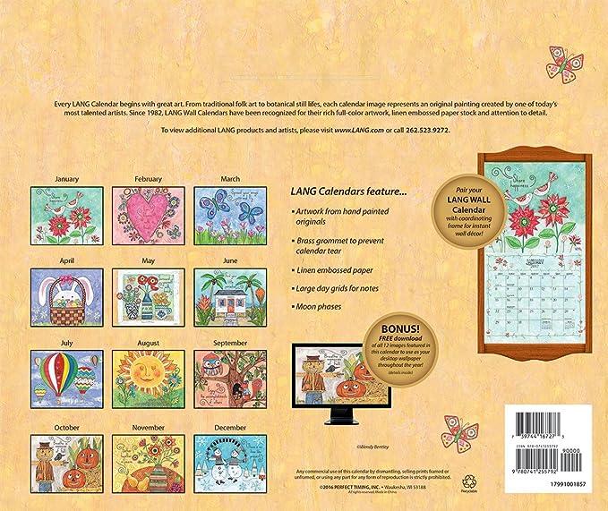 Amazon.com : Lang 2017 Favorite Things Wall Calendar, 13.375 x 24 ...