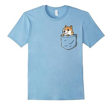 81OZrEgmOML._UX385_ amazon com pocket doge t shirt doge dog meme shirt clothing