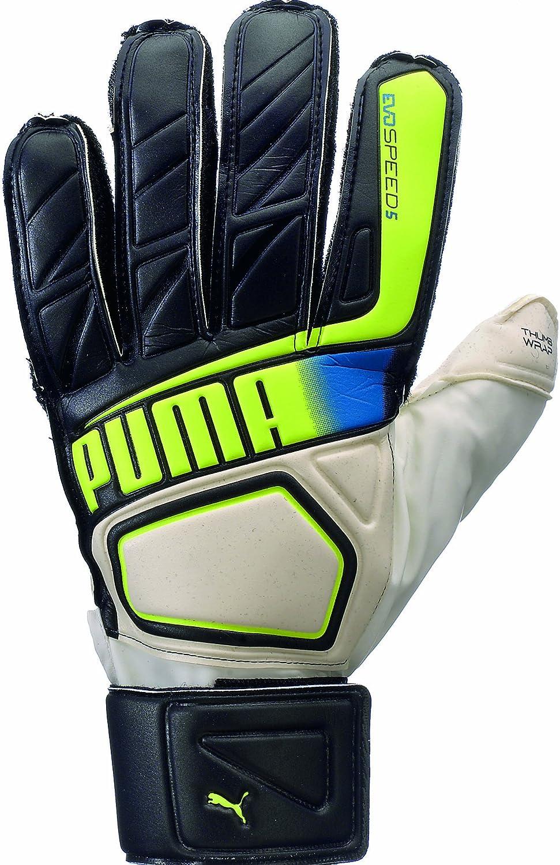 Puma evoSPEED 5.2サッカーゴールキーパーグローブ B00DG7SFM4ブラック 8