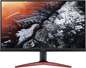 "Acer KG251Q Fbmidpx 24.5"" Full HD (1920 x 1080) TN 144Hz Monitor with AMD Radeon FreeSync Technology (Display Port, HDMI & DVI), Black UM.KX1AA.F03"