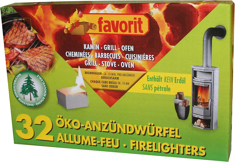 Favorit Anzündwürfel 32er Pack