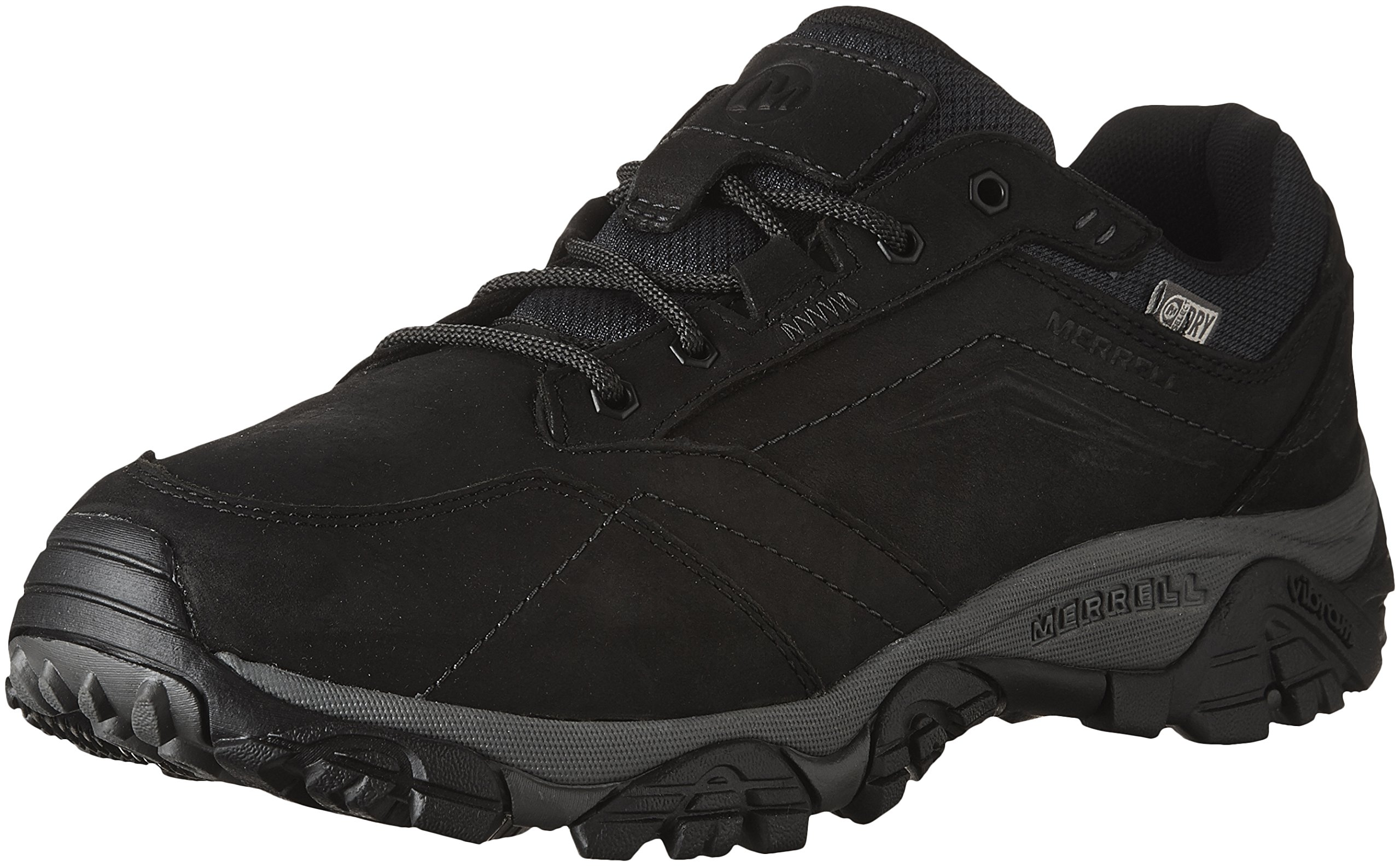 Merrell Men's Moab Adventure Lace Waterproof Hiking Shoe, Black, 11.5 W US
