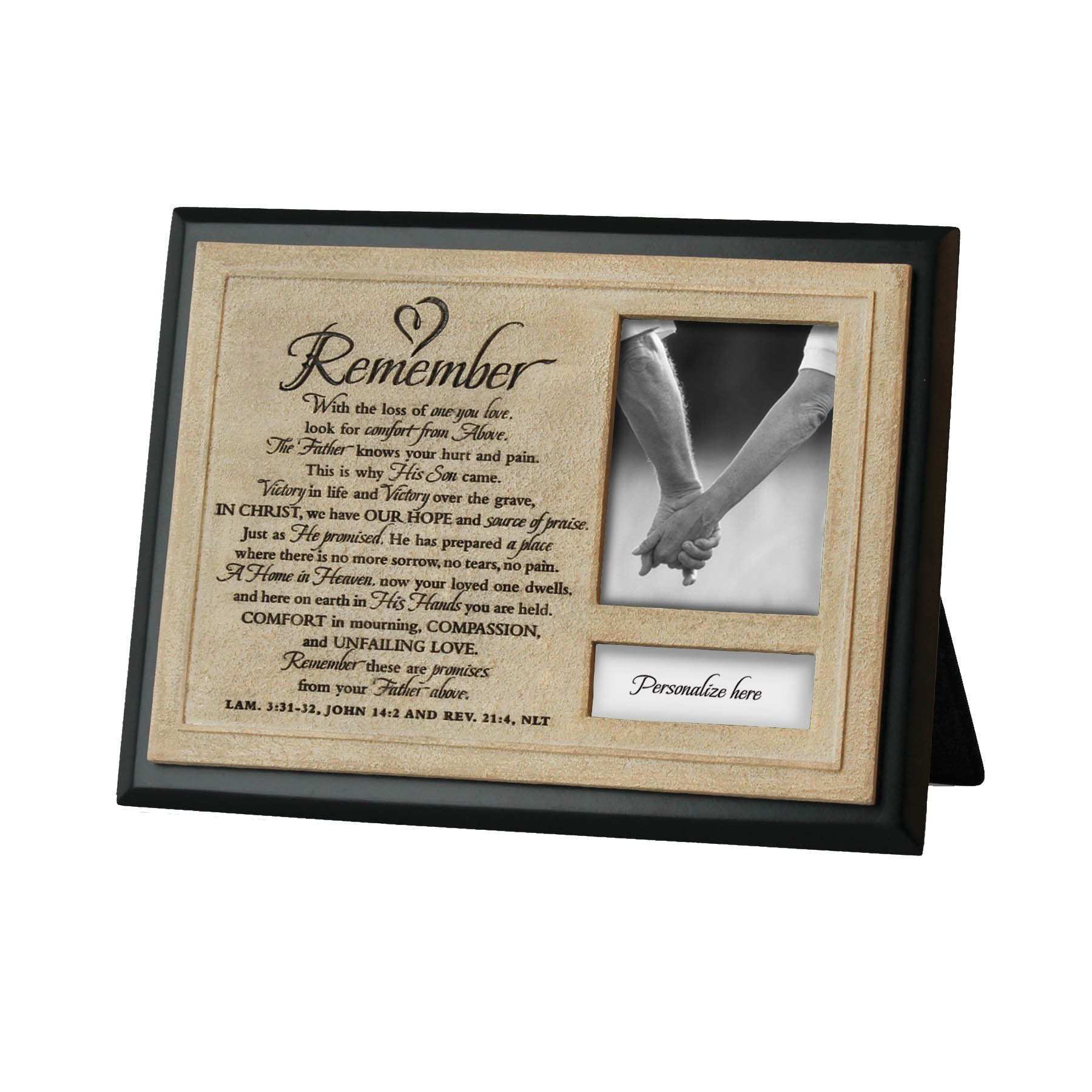 Lighthouse Christian Products Remember Frame/Plaque, 2 1/4 x 3''