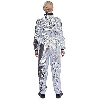 EraSpooky Mujer Astronaut Spaceman Disfraz