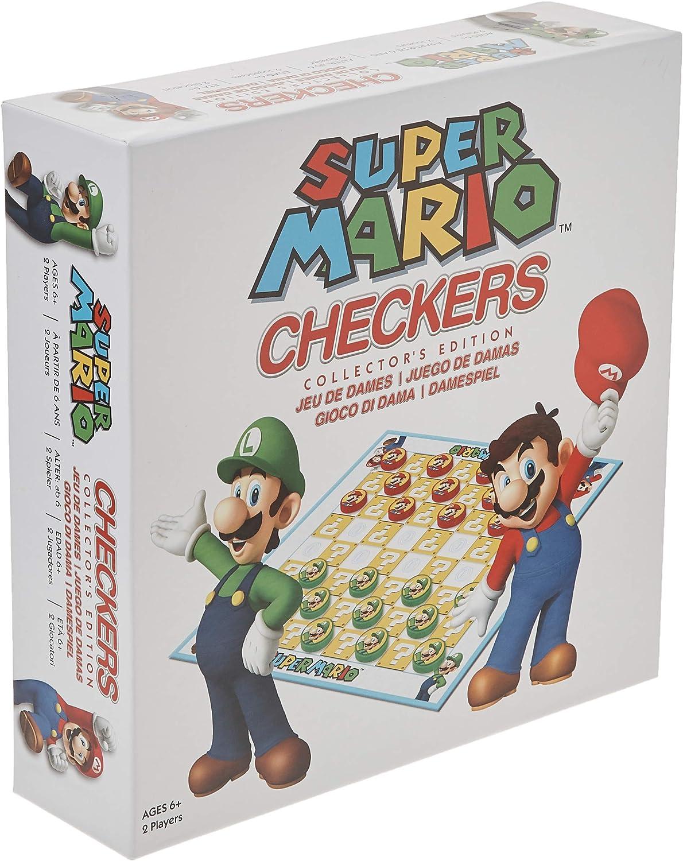 Jeu de Dame Super Mario en promotion