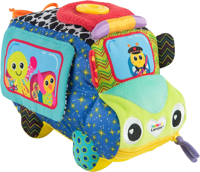 LAMAZE Freddie's Activity Bus Toy, Multi