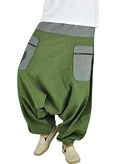 virblatt Pantalones Bombachos Tallas Grandes XXL Hombre Pantalones ...