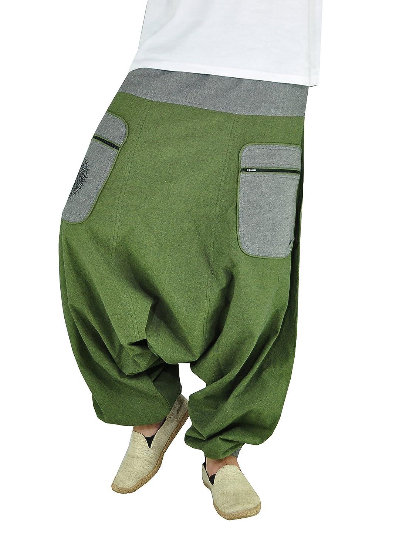 virblatt Pantalones Bombachos Mujer Chandal Pantalones cagados ...