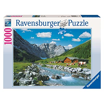 Ravensburger Karwendel Mountains - Austria Jigsaw Puzzle (1000 Piece): Toys & Games