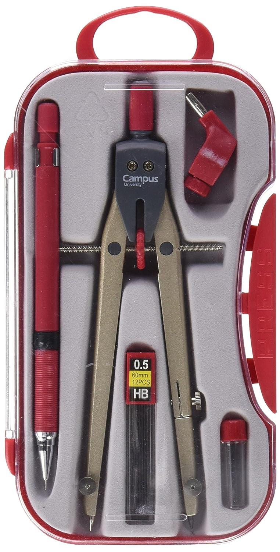 Campus University BK-310-Bussola, colore: rosso Makro Paper SP.SL S29005D-RD