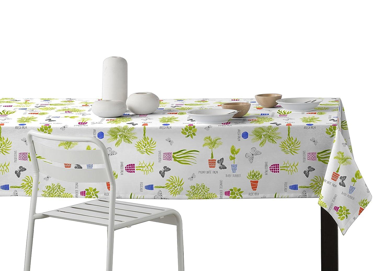 Martina Home Vasi Tovaglia resinato in Design Moderno, Tessuto,, 29x 2x 40cm Enguitex Home Macetas