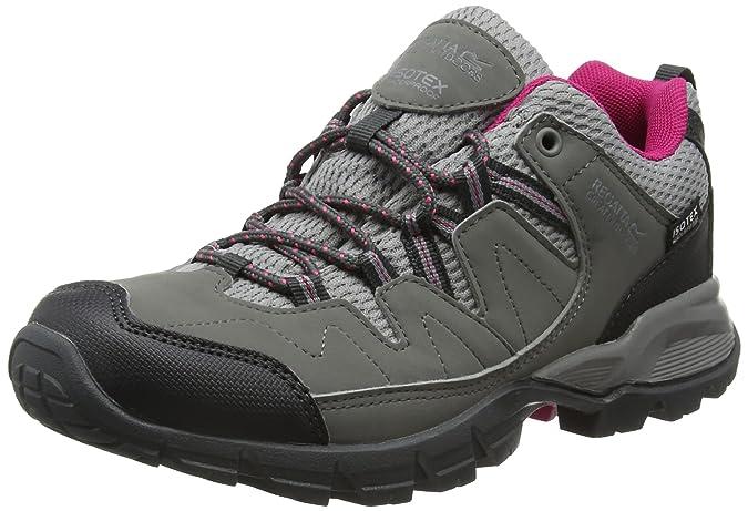 Regatta Lady Holcombe, Women's Low Rise Hiking Shoes, Grey (Steel/Vivaci), 6 UK (39 EU)