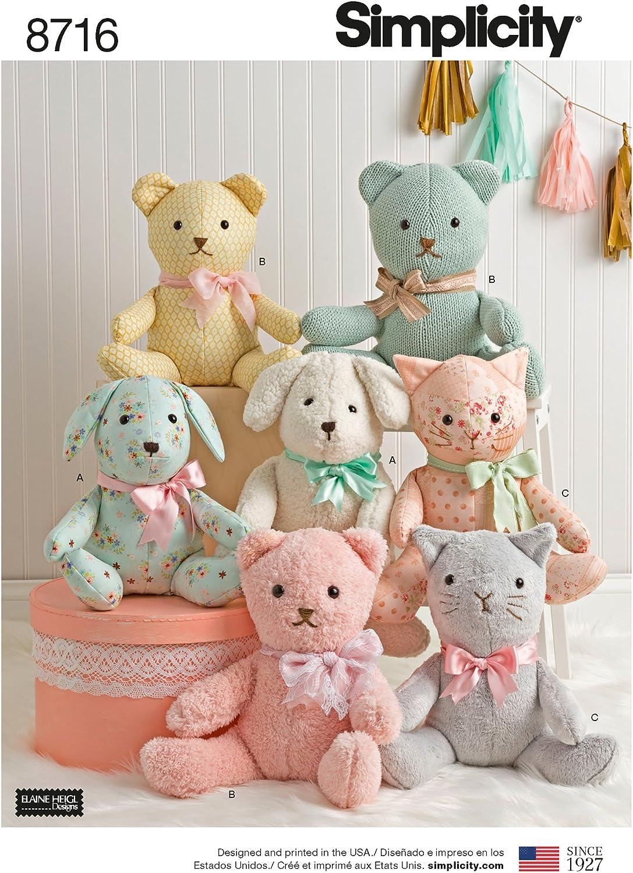 BABY BEAR CROCHETED Iron On Applique Simplicity hildren Babies