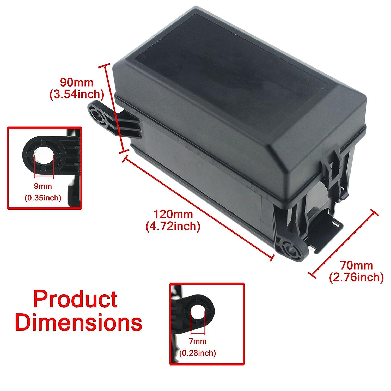amazoncom iztor 6 way blade fuse holder box12 slot relay box with
