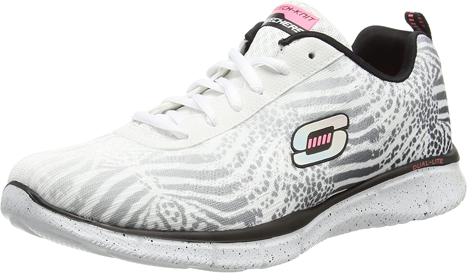 Skechers Equalizer Surf Safari, Baskets Basses Femme
