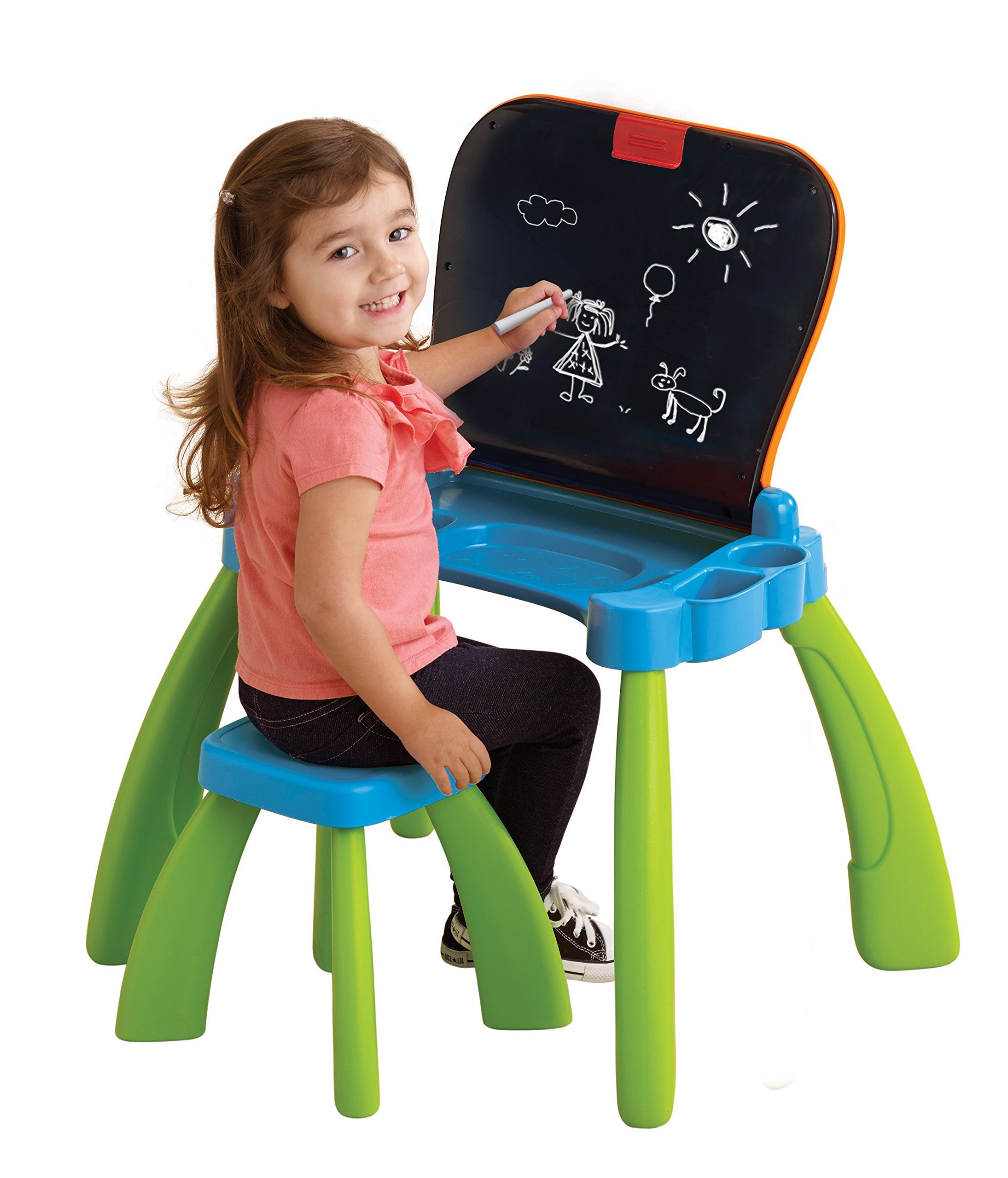 VTech Touch and Learn Activity Desk (Frustration Free Packaging), Green by VTech (Image #5)