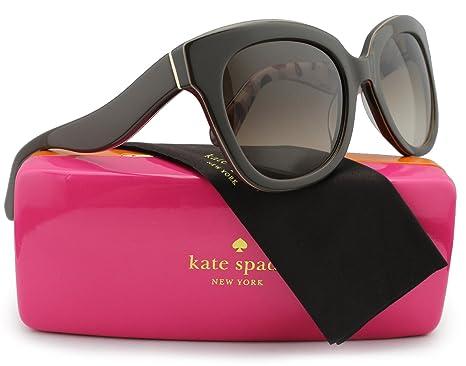 8eef1c9af4 Kate Spade New York Amberly S Sunglasses Brown Nude w Brown Gradient (0W53