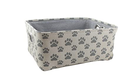 Winifred U0026 Lily Pet Toy And Accessory Storage Bin, Organizer Storage Basket  For Pet Toys